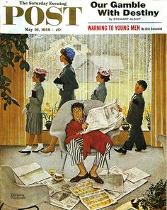 Easter Morning by-Norman Rockwell 1959