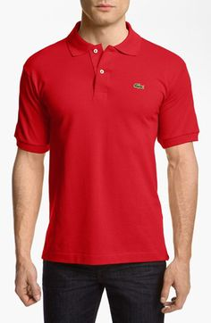 Lacoste Lacoste 'L1212' Piqué Polo available at #Nordstrom