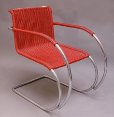 1927_ MR 20 chair by ludwig mies van der rohe and lilly reich | MDBA