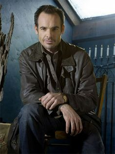 Paul Blackthorne as Harry Dresden of The Dresden Files. Loved the books by Jim Butcher the show was based on.  Wanted more episodes!!!!
