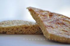 Oats steamed flatbread