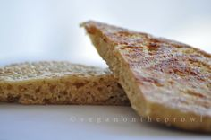 Oats steamed flatbread