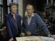 Bing Crosby and David Bowie -  Drummer Boy.  FAVORITE! : )