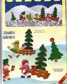 Album Archive - 193 Natal Pano Lency - Creando Ideas n. Christmas Holidays, Christmas Tree, Christmas Ornaments, Album, Holiday Decor, Creando Ideas, Home Decor, Google, Crochet Hair