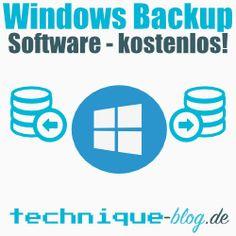 Windows Backup Software kostenlos