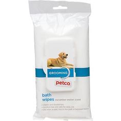 Petco Cucumber Melon Scent Grooming Wipes For Dogs