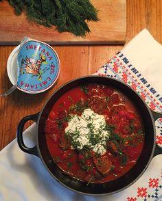MAHTAVA! Der Finnische Food & Design Blog, Russische Küche,  Borschtsch  I Rote Bete-Eintopf, Copyright Michaela Fuchs