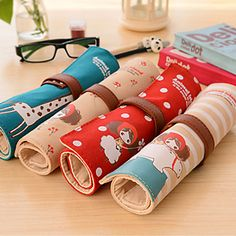 Large Rolls Of Canvas Pencil Bag Lovely Pencil Curtain 4886125 2017 – $7.99
