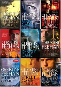 Christine Feehan series Ghostwalkers, an elite squadron that uses psychic powers and are military weapons themselves.