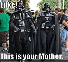 Let's take a look at some funny Darth Vader memes. Here are 5 of the best Darth Vader memes we found today. Take a look at our site for more funny memes! Star Wars Meme, Star Wars Witze, Star Wars Rebels, Memes Fr, Funny Memes, Hilarious, Nerd Funny, Tv Funny, Funny Stuff
