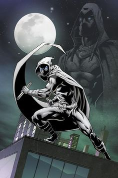 Moonknight by FMCuonzo Marvel Comic Character, Comic Book Characters, Comic Book Heroes, Marvel Characters, Moon Knight Cosplay, Marvel Moon Knight, Marvel Dc Comics, Marvel Heroes, Marvel Avengers