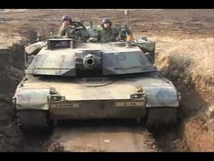 M1 Abrams Main Battle Tank - Training in South Korea - 2nd Infantry Division - Rodriguez Range