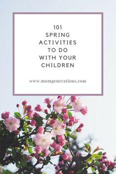Fun Spring activitie