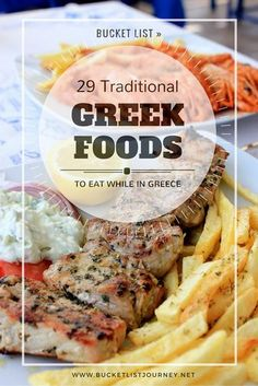 This website contains a list of 29 tradition Greek cuisine. These dishes are very well known. These dishes are usually eaten during celebrations, and special events. Whats your favorites Greek dish?