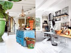 The eclectic home of Swedish designer Marie Olsson Nylander