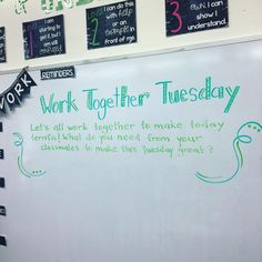Work Together Tuesday | Miss 5th