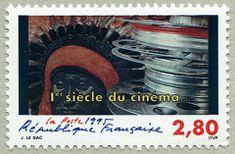 L´indien 1er siècle du cinéma - Timbre de 1995