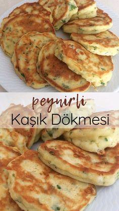 Spoons with cheese - delicious recipes Informations About Peynirli Kaşık Dökmesi - Nefis Yemek Tarif Yummy Recipes, Cheese Recipes, Baby Food Recipes, Dessert Recipes, Cooking Recipes, Yummy Food, Delicious Desserts, Turkish Breakfast, Wie Macht Man