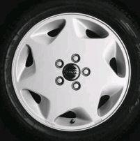 Mercurius 16 x 6.5 Volvo #9134363 (color 931 Dark Silver), Offset 43mm