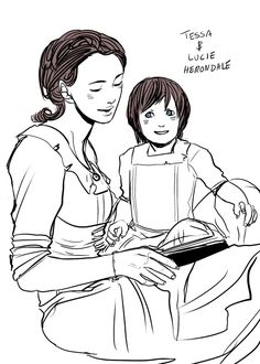 Family picture time! Mother and Daughter, Fanart of Clockwork Princess