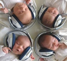 this is what people think music therapy is. it's not. but it is a cute picture.