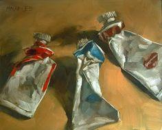 """Ultimate Squeeze"" - Original Fine Art for Sale - © Michael Naples"