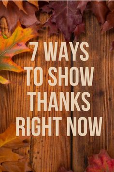 7 Ways to Show Thanks Right Now - Read the post on our blog: http://hubs.ly/H05j2y40