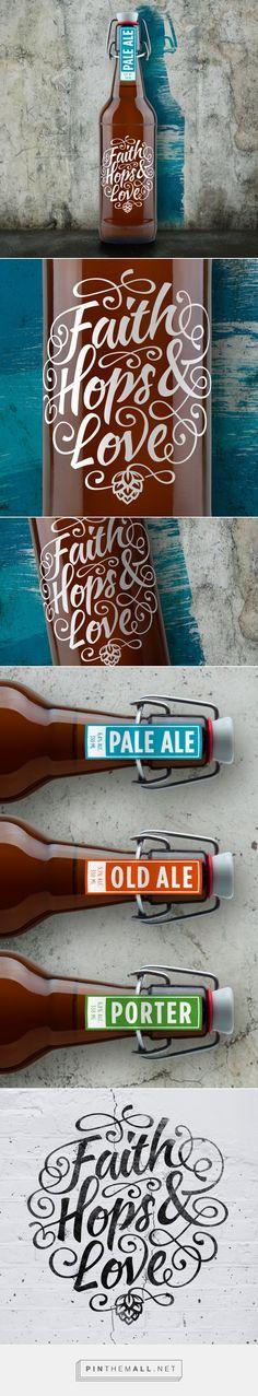 Faith Hops Love packaging design by DesignBro - http://www.packagingoftheworld.com/2017/11/faith-hops-love.html