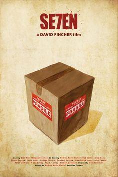 Minimal movie poster.