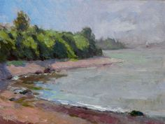 Channel - oil 9905  by Michael :Chesley Johnson  ALL PAINTINGS FOR SALE.
