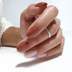 Semi-permanent varnish, false nails, patches: which manicure to choose? - My Nails Cute Nails, Pretty Nails, My Nails, Gorgeous Nails, Gel Nail Art Designs, Fall Nail Designs, Latest Nail Designs, Ongles Beiges, Uñas Diy