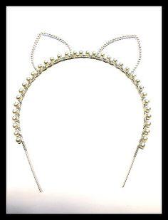 Jamie Estelle Jewelry: Cat Ear Headband By Jamie Estelle