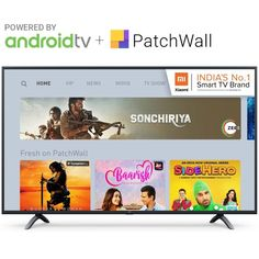 Buy Mi LED Smart TV Pro 108 cm 43 with Android only for Rs 25999 Exchange your old TV with new one and get 30 day replacement guarantee Google Voice, Pre Paid, Tv App, Digital Tv, Music For Kids, Old Tv, Live Tv, Smart Tv