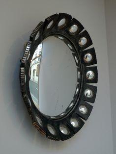 """Line Vautrin, """"Mazarin"""" mirror, c1960."""