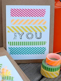"Kids will learn the importance of saying ""thank you"" and get creative with these adorable DIY thank-you notes shared by some of our favorite..."