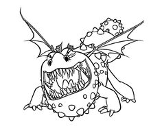 how to train your dragon coloring pages for kids printable free