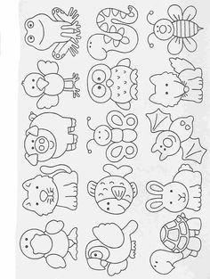 Elementary School Worksheets Complete and coloring 36 Art Drawings For Kids, Drawing For Kids, Easy Drawings, Art For Kids, Decoration Creche, Best Friend Birthday Cards, Finger Puppet Patterns, Scrapbook Patterns, Doodles