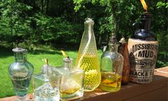 Upcycle Glass Bottles into DIY Tiki Torches