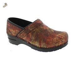 New Sanita Women's Professional Clog Red 42 - Sanita mules and clogs for women (*Amazon Partner-Link)