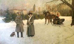Maryanna again Archduke, Winter Painting, Classic Paintings, Royal House, Kaito, Horses, Amber Heart, Painters, History