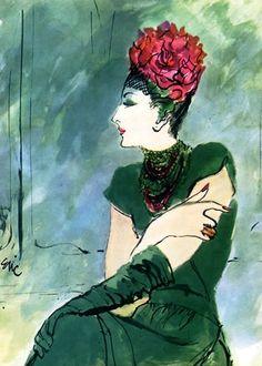 Tatiana du Plessix by Eric (Carl Erickson) 1945