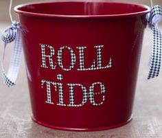 Alabama Roll Tide Houndstooth Bucket