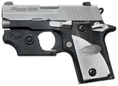 SIG P238 Tactical Laser, 380, W/Custom Aluminum Grips