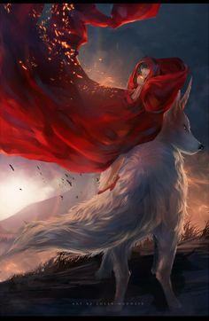 http://sheer-madness.deviantart.com/art/Miko-and-okami-382847169