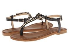 Call it SPRING - Dwaliria  Price: $36  Celebrate summer in style with these sweet sandals! Thong-style construction with adjustable buckle closure. Faux leather upper with sparkling rhinestone detail. Man-made lining. Lightly cushioned man-made footbed. Man-made sole. Imported. Measurements: Heel Height: 1 2 in Weight: 5 oz Platform Height: 1 4 in