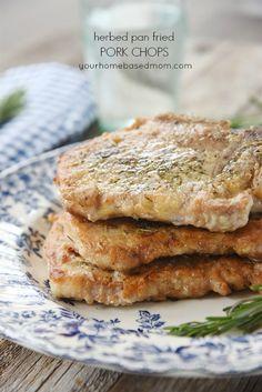 Herbed Pan Fried Por
