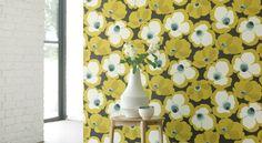 Makela Wallcoverings by Villa Nova – James Dunlop Textiles Romo Fabrics, Upholstery Fabrics, Chelsea Flower Show, Painted Paper, Fabric Wallpaper, Outdoor Fabric, Curtains, Drapery, Indoor