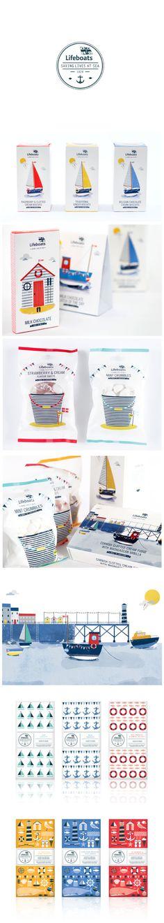Supafrank – RNLI Confectionery Packaging. #packaging #branding #marketing