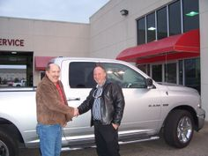 Rufus from Middlesex NC is all smiles about his savings he found at Lee CDJR on this wonderful 2010 Dodge Ram 1500. Thank you Rufus for your business. His salesman is Barry Menta.