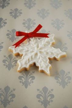 INSPIRATION - for Christmas cookies or white chocolate bits